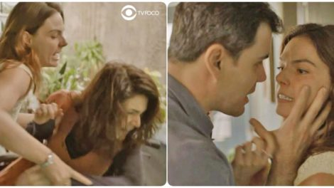 Magno fica dividido entre Leila e Betina em Amor de Mãe
