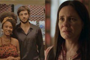Thelma é atingida por maldição na novela Amor de Mãe (Foto: Reprodução)