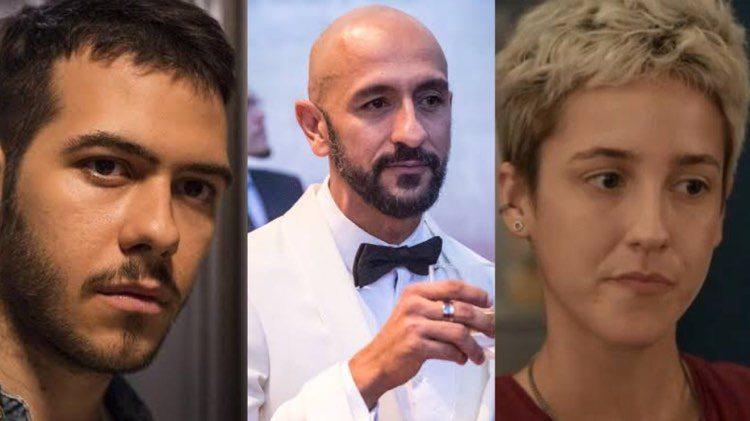 Em Amor de Mãe, Álvaro comemorará as mortes sequenciais de Vinícius e Amanda (Montagem: TV Foco)