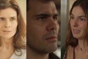 Em Amor de Mãe, Magno irá desmascarar Leila e verá que Betina estava certa (Montagem: TV Foco)