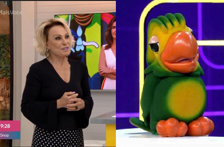Louro José disse que tem ciúmes da Namaria (Foto: Reprodução) Ana Maria Braga