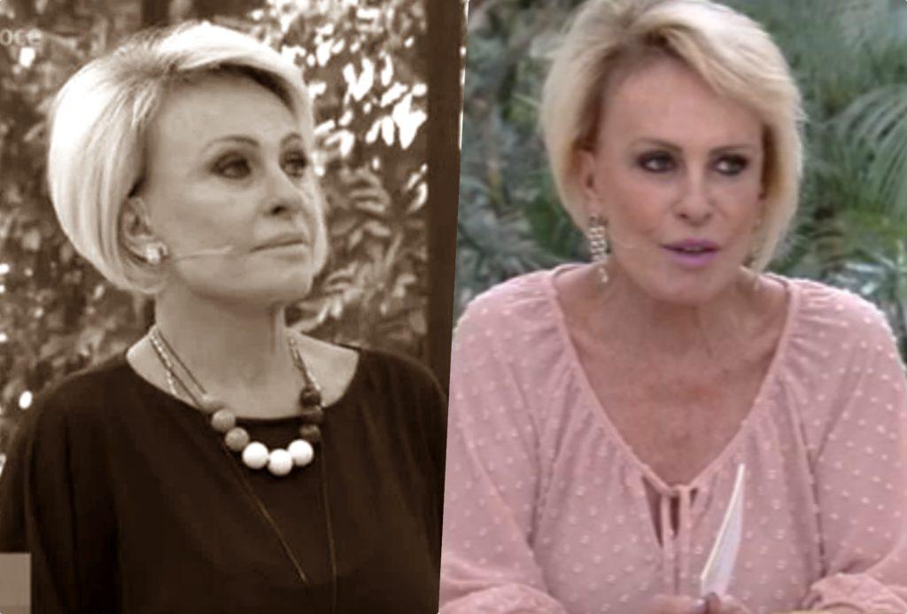 A apresentadora Ana Maria Braga, que luta contra um câncer, teria tentado se internar (Foto montagem: TV Foco)