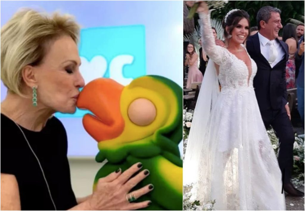 Ana Maria Braga não comparece ao casamento de Tom Veiga. Foto: Reprodução