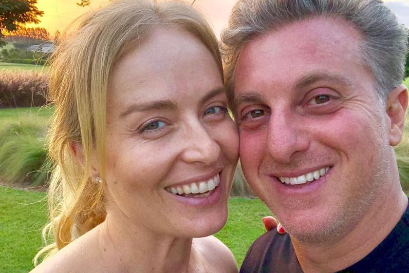 Angélica e Luciano Huck estão casados há 15 anos (Foto: Reprodução/ Instagram)