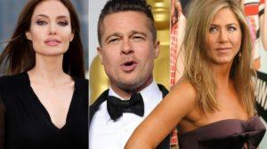 Brad Pitt reata relação com Jennifer Aniston e fecha parceria com Angelina Jolie (Foto: Reprodução)