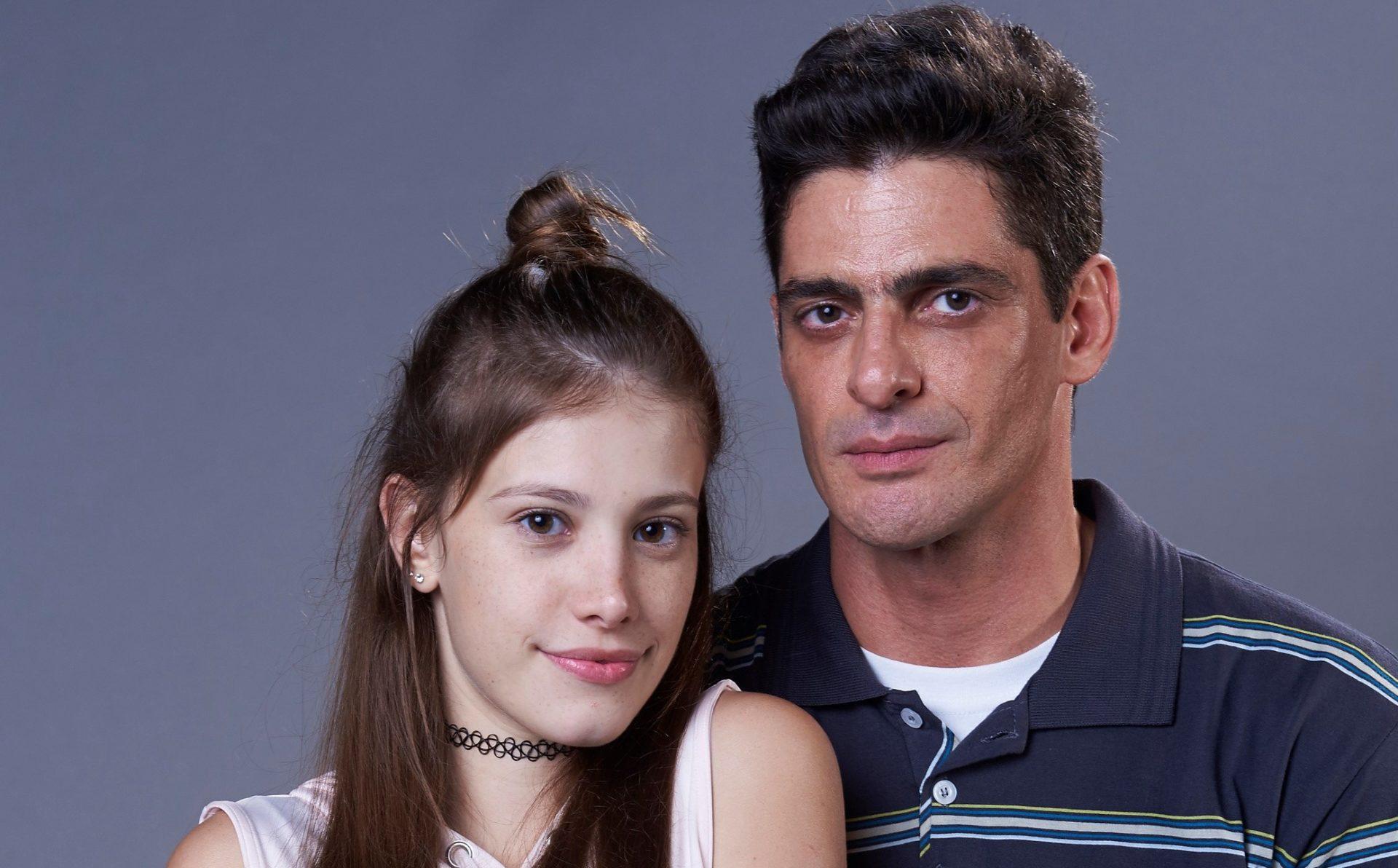 Caroline Dallarosa e Julio Machado que interpretam Anjinha e Major na novela Malhação da Globo (Imagem: Divulgação)