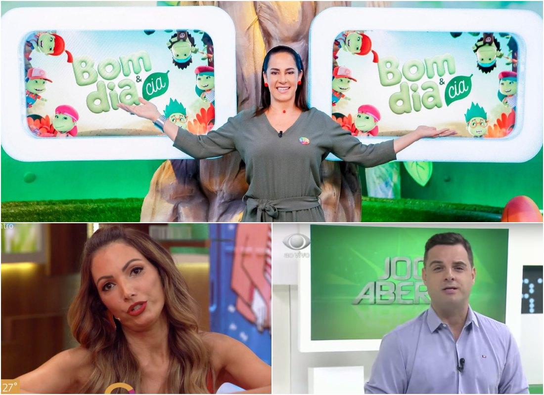 Bom Dia e CIA, do SBT, toca o terror no Encontro, da Globo. Band não consegue vencer Record. Foto: Reprodução