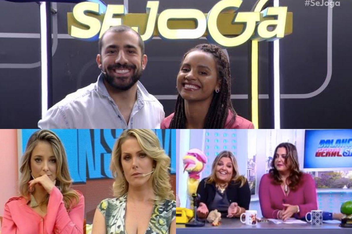 Audiências Se Joga, da Globo, vence Venenosa, da Record, e Hoje em Dia dá vexame. Foto: Reprodução