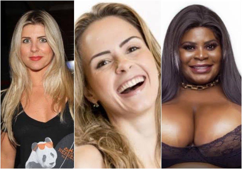 íris Stefanelli, Ana Paula Renault e Jojo Todynho estão entre os cotados para o Big Brother Brasil 20. Foto: Reprodução