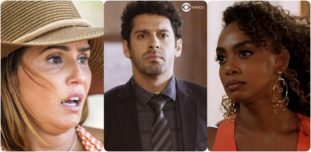 Alexia, Zezinho e Bel viverão um intenso triangulo amoroso em Salve-se Quem Puder