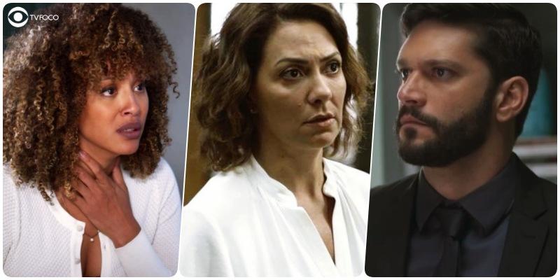 Gisele passa por apuros, Nana descobre assassinato e Diogo surta na reta final de Bom Sucesso
