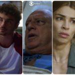 Vera, Vicente, Alberto, Paloma e Marcos de Bom Sucesso