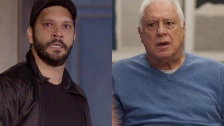 Diogo e Alberto tem encontro marcado no último capítulo de Bom Sucesso (Montagem: TV Foco)
