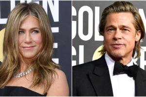 Saiba o que está rolando entre Brad Pitt e Jennifer Aniston (Foto : Reprodução)