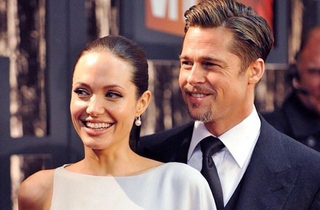 Angelina Jolie grava cena de sexo com Brad Pitt em Sr. & Sra. Smith sem calcinha (Foto: Reprodução)