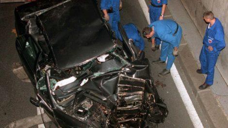 Carro em que Diana Morreu (Foto: Reprodução)