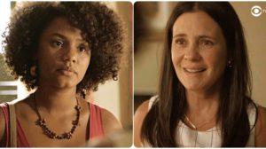 Camila enfrenta Thelma, abre o coração e termina a perdoando