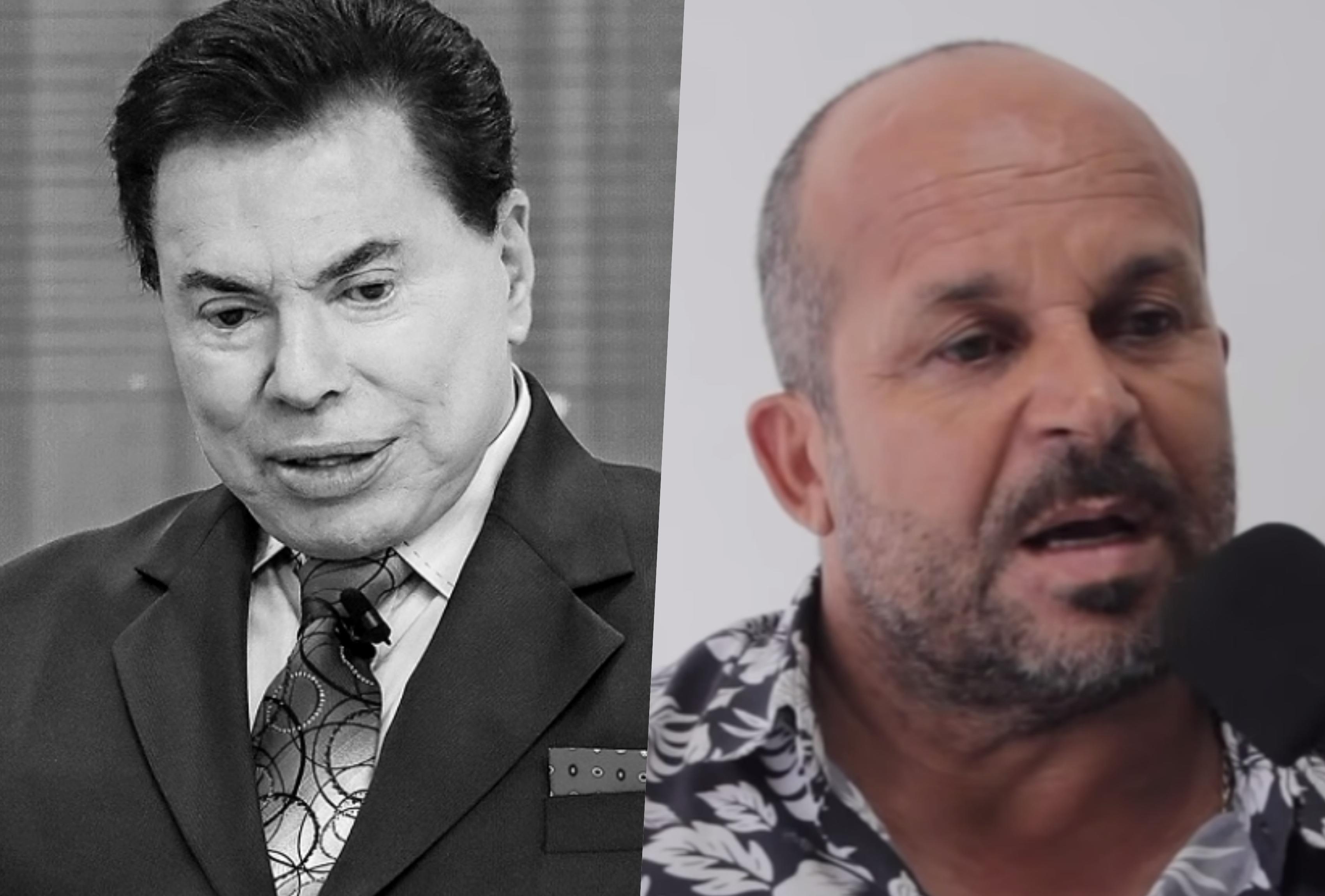 Carlinhos Vidente foi colocada na parede para fazer previsões para Silvio Santos se negou, mas contou o que viu (Foto reprodução)