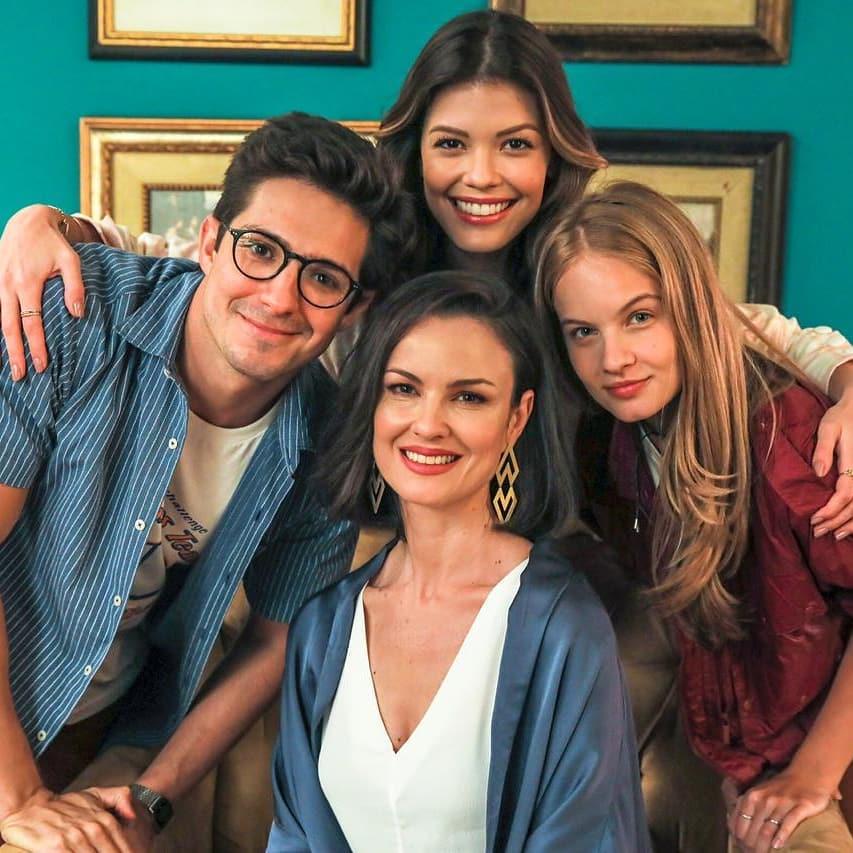 A família Romantini de Salvve-se Quem Puder, nova trama da Globo