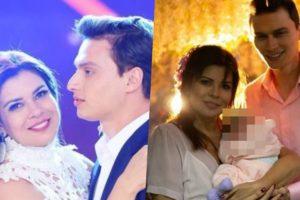 Mara Maravilha e noivo Gabriel surgiram com criança e foram apontados como papais (Foto reprodução)