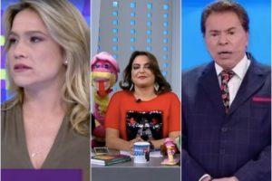 Globo, SBT e Record quase se matam pela liderança. Foto: Reprodução Audiência Audiências