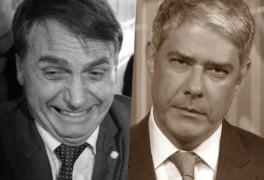 Bolsonaro aciona caça as bruxas em elenco de celebridades da Globo (Foto montagem: TV Foco)