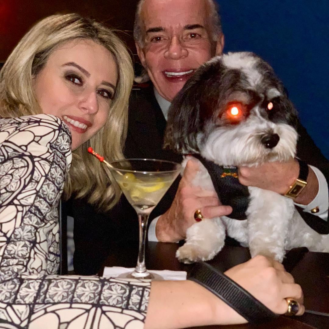 O milionário, Conde Chiquinho Scarpa e sua mulher, Luana Risério (Foto: reprodução/Instagram)