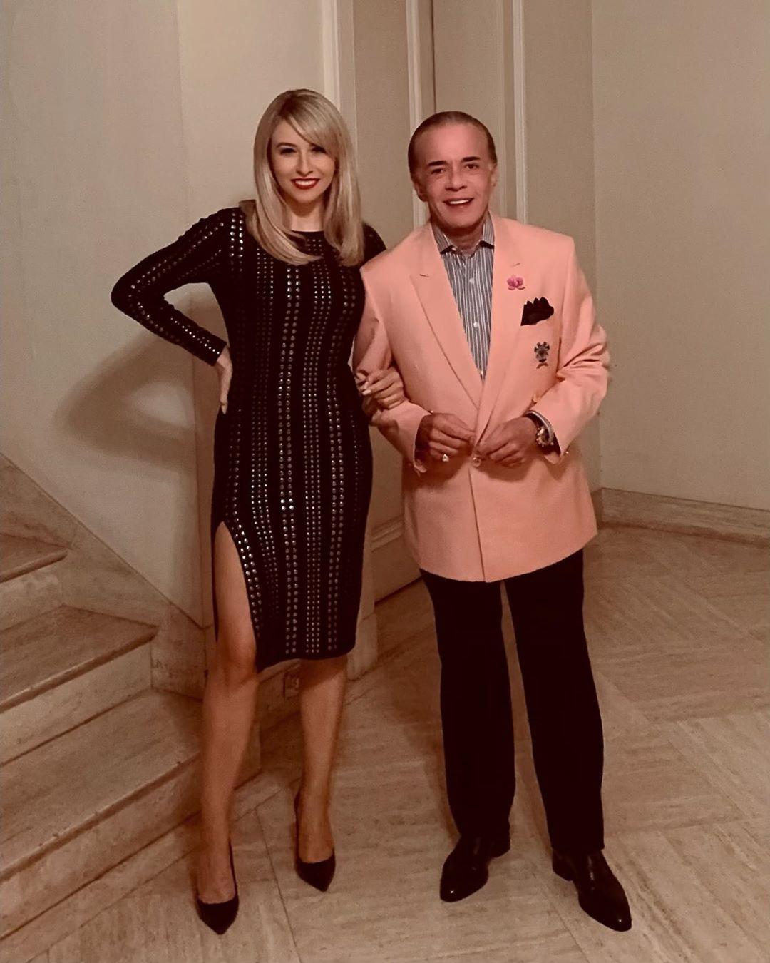 O empresário e sua esposa prontos para um jantar especial (Foto: Reprodução/Instagram)