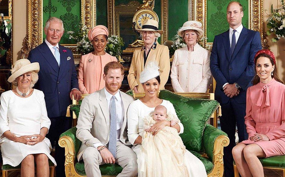 Família Real, da Rainha Elizabeth, segue regras (Foto: Reprodução)