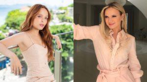 Larissa Manoela e Eliana (Foto: Reprodução/Instagram/Montagem TV Foco)