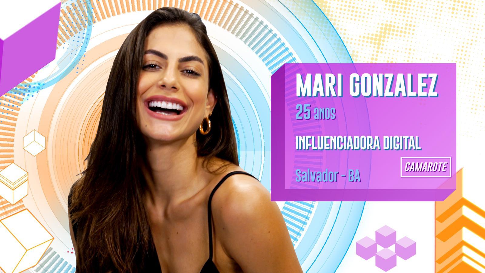 Mari Gonzalez BBB20 (Foto: Divulgação/ Globo)