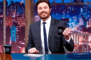O famoso apresentador do The Noite, do SBT, Danilo Gentili
