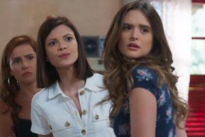 Deborah Secco, Vitória Strada e Juliana Paiva na novela Salve-se Quem Puder