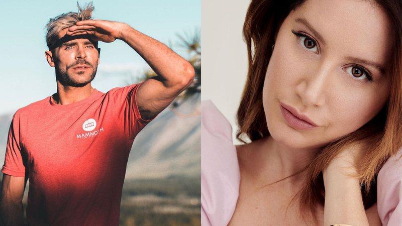Zac Efron tem beijo taxado como o pior pela ex-estrela da Disney Ashley Tisdale (Foto: Reprodução)