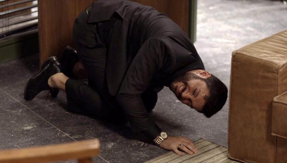 Diogo é agredido por Paloma em cena tensa de briga em Bom Sucesso