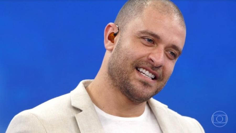 Diogo Nogueira participou do Arquivo Confidencial do Faustão (Reprodução)