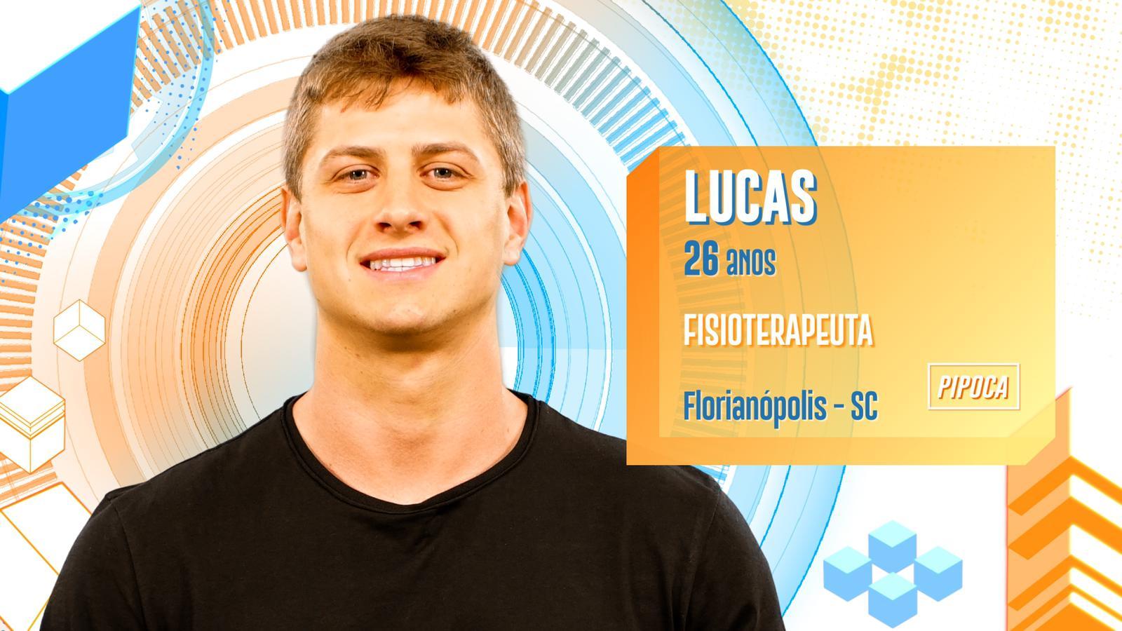Lucas no BBB20 (Foto: Divulgação/ Globo)