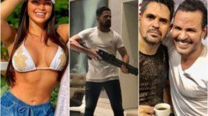 weliton costa victória vilarrim Irmão de Eduardo Costa ameaça ex-noiva do cantor de morte. Foto: Reprodução