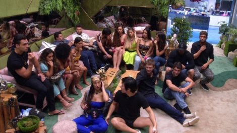 O elenco do Big Brother Brasil 20 (foto: reprodução/TV Globo)