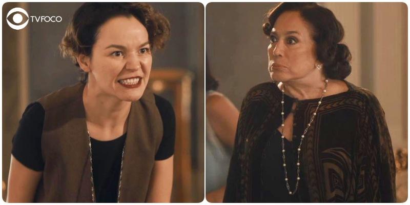 Adelaide e Emília tem briga fervorosa em Éramos Seis