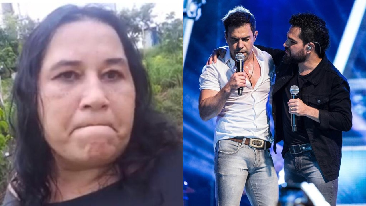 Cleo Loyola pretende vingança contra Zezé Di Camargo e Luciano (Foto: Reprodução/YouTube/Divulgação)