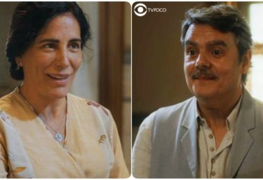 Lola e Afonso novo e mais bombado casal de Éramos Seis
