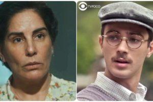 Lola e Julinho terão embate forte na novela Éramos Seis