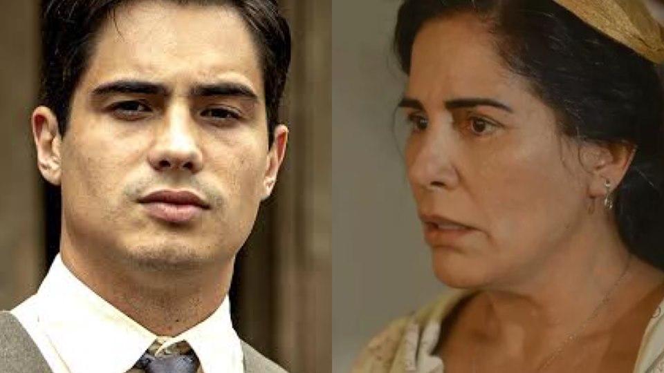 Morte de Carlos em Éramos Seis deixará Lola inconsolável na novela da Globo (Montagem: TV Foco)