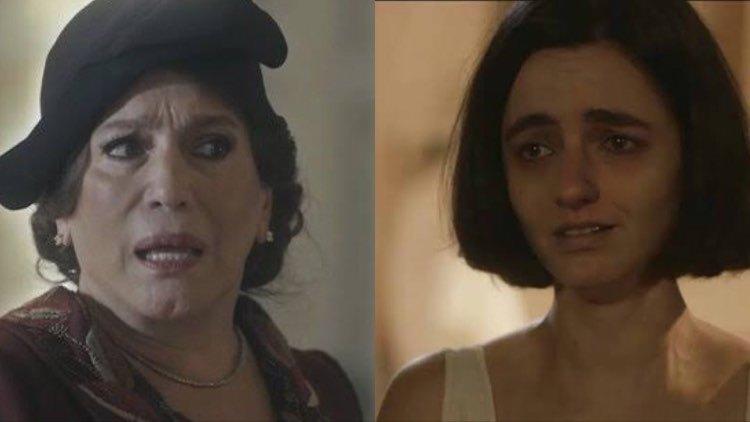 Em Éramos Seis, Emília será assombrada por fantasmas do passado (Montagem: TV Foco)