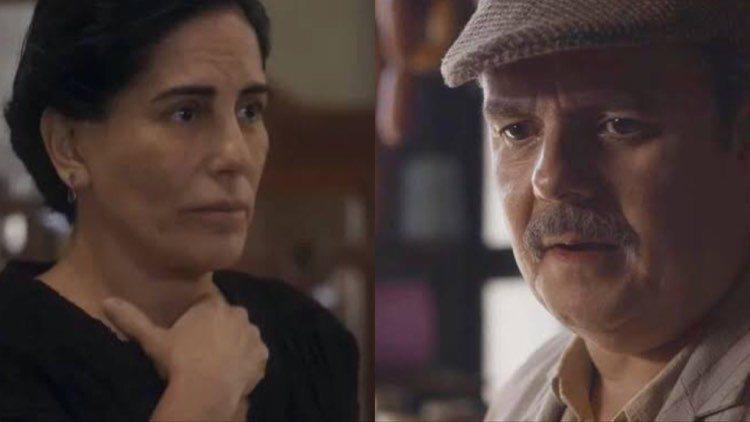 Lola terminará tudo com Afonso após morte de Carlos (Montagem: TV Foco)