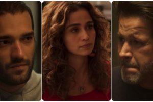 Sandro, Érica e Raul são personagens de Amor de Mãe