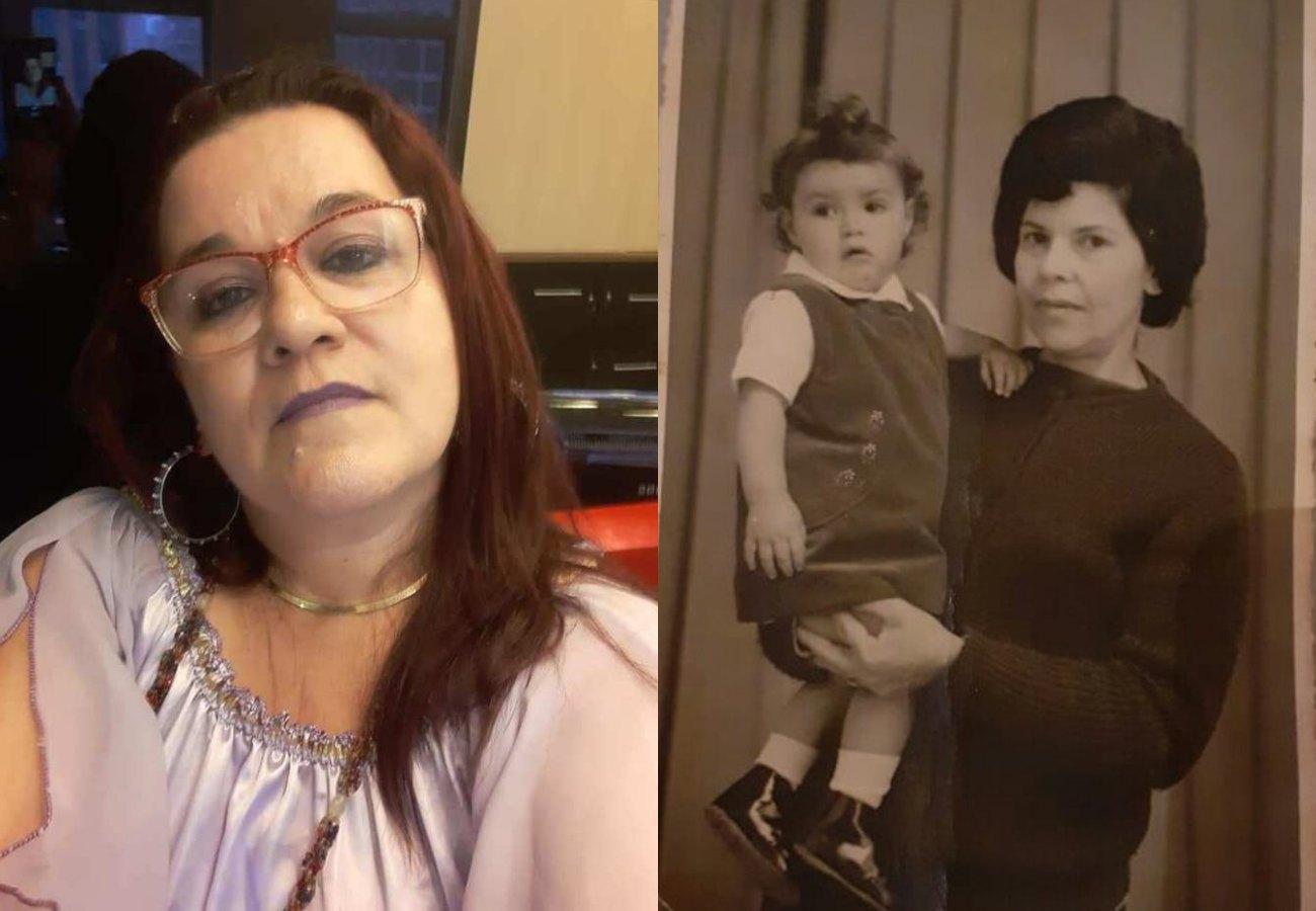 Érica Dias procura irmãs perdidas. Foto: Reprodução