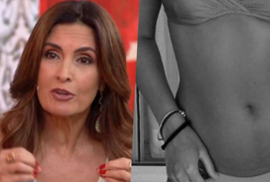 Fátima Bernardes resolveu comentar a foto da filha de biquini e deixou recado (Foto reprodução)