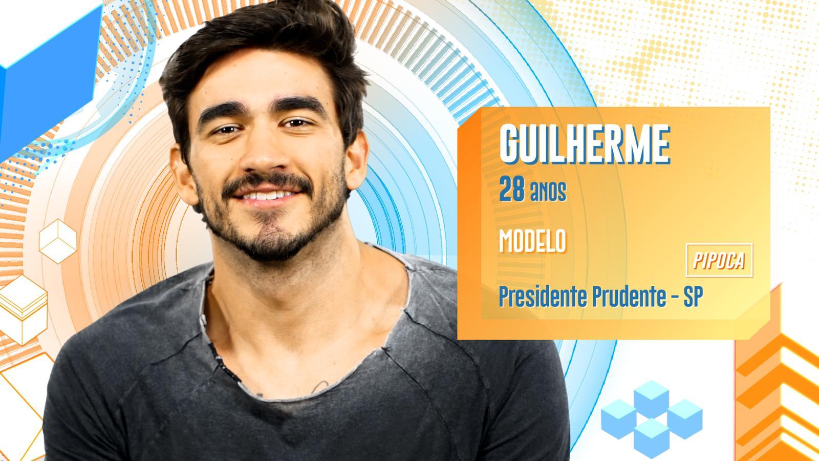 Guilherme BBB20 (Foto: Reprodução/ Globo)